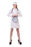 Medico attraente della donna Immagine Stock