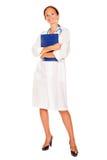 Medico attraente della signora Immagini Stock Libere da Diritti