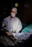 Medico in chirurgia Fotografia Stock Libera da Diritti