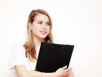 Medico con i appunti immagini stock libere da diritti