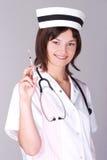 Medico con la siringa Fotografia Stock Libera da Diritti