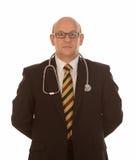 Medico con lo stetoscopio Fotografie Stock Libere da Diritti