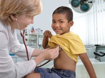 Medico dei bambini Fotografia Stock Libera da Diritti