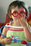 Medico del bambino Fotografie Stock Libere da Diritti