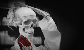 Medico del cranio Fotografia Stock