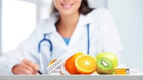 Medico del dietista Fotografia Stock