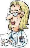 Medico del fumetto Fotografia Stock Libera da Diritti