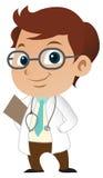 Medico del ragazzo Fotografia Stock