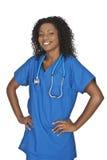 Medico dell'afroamericano Immagini Stock Libere da Diritti