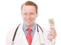 medico dell'euro 5 fotografie stock