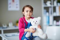 Medico dell'orsacchiotto Fotografia Stock Libera da Diritti