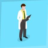 Medico dell'uomo del personale medico Fotografia Stock Libera da Diritti