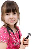 Medico della bambina fotografia stock libera da diritti