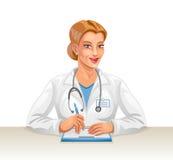 Medico della donna Immagini Stock Libere da Diritti