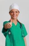 Medico della giovane donna Fotografia Stock Libera da Diritti