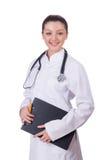 Medico della giovane donna Immagini Stock