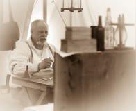 Medico della guerra civile Fotografia Stock