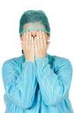 Medico della signora Fotografie Stock