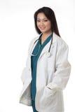 Medico della signora Fotografia Stock