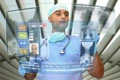 Medico di alta tecnologia Fotografie Stock