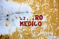 Medico di Centro Immagini Stock