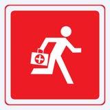 Medico di emergenza Fotografie Stock