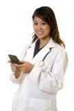 Medico di paginazione Fotografie Stock