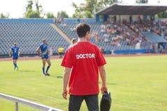 Medico di sport Fotografie Stock Libere da Diritti