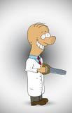 Medico divertente Fotografie Stock