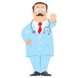 Medico divertente Fotografie Stock Libere da Diritti