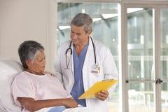 Medico e paziente Fotografia Stock Libera da Diritti