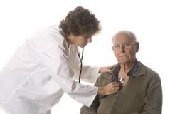 Medico e paziente Immagini Stock Libere da Diritti