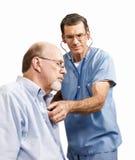 Medico e paziente Fotografie Stock Libere da Diritti