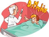 Medico e paziente funky Fotografia Stock Libera da Diritti