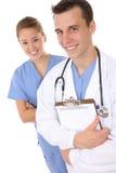Medico ed infermiera Fotografie Stock