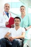 Medico ed infermiere Immagine Stock
