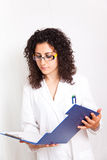 Medico femminile Fotografia Stock