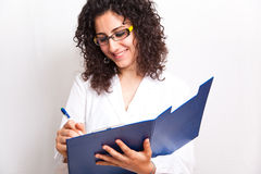 Medico femminile Fotografie Stock