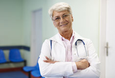 Medico femminile Immagine Stock