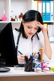 Medico femminile Fotografia Stock Libera da Diritti