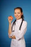 Medico femminile amichevole Immagine Stock Libera da Diritti