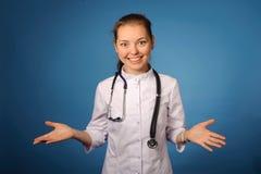 Medico femminile amichevole Fotografia Stock