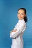 Medico femminile amichevole Fotografie Stock Libere da Diritti