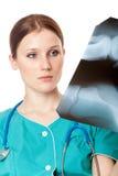 Medico femminile grazioso Fotografia Stock