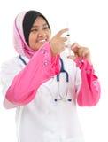 Medico femminile musulmano Immagine Stock