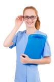 Medico grazioso Fotografia Stock