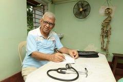 Medico indiano famoso immagini stock libere da diritti