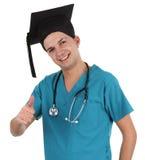 Medico laureato fotografie stock