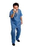 Medico maligno fotografia stock