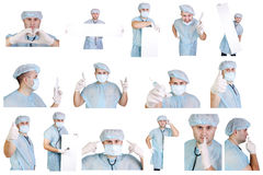 Medico maschio Fotografia Stock
